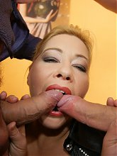 A very special kinky mature sexfest